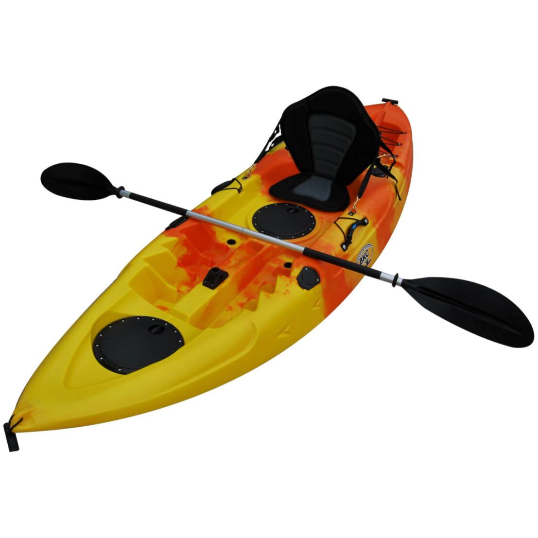 A Brooklyn single kayak rental at Lago Mar in Houston, Texas, specifically Texas City, Texas.